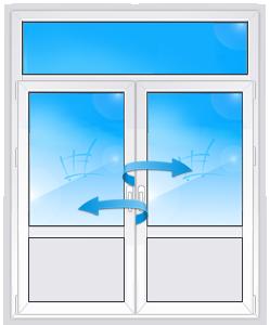 Балконная дверь в Сталинский дом