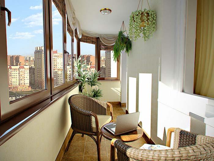 фото красивых балконов и лоджий